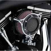 Cobra Black And Chrome Rpt Stage 1 Air Intake Cleaner Harley Throtte By Wire 08-16