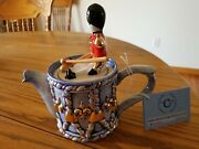 Ceramic Inspirations Toy Soldier Drummer Individual Teapot Uk
