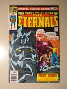Eternals 1 Signed By Jack Kirby 1st Appearance And Origin Eternals 1976 Mcu