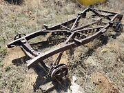 1936 Ford V8 Model 68 Chassis Frame And Axles. Read Disc.