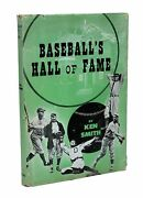 Ken Smith / Baseballand039s Hall Of Fame Signed 1st Edition 1947