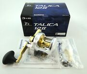New Shimano Talica 12ii 12 2-speed Reel U.s Seller Free 1-3 Days Delivery