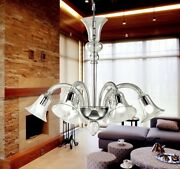 Suspended Lights Classic With Glass Of Murano Smoke