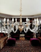 Suspended Lights Classic Metal Crystal Clear Gold Silver