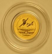 2016 Tuvalu 15-dollar Gold Coin For Pearl Harbor 75th Anniversary - Mint Capsule