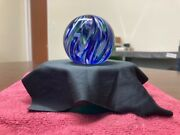 1993 Gibson Glass Solid Core Swirl Style Decorative Collectible Paperweight00