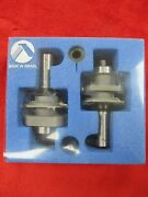 Amana 55430 2pc. Ogee Stile And Rail Shaper Router Tool Bits Set 55430