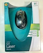 Logitech Ls1 Laser Wired Mouse New Usb - Sealed