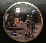 Bradford Exchange The Eagle Has Landed Apollo 11 Schaar Collector Plate 1st Issu