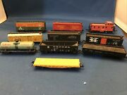 N Scale Freight Cars, Boxcars, Tanker, Coal, And Grain Lot Of 10 Unique Cars