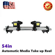 54/64 Automatic Media Take Up Reel Sd54 Two Motor For Printer Roland Epson