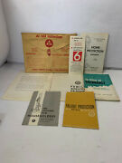 Vtg 1960 Civil And Defense Home Survival Kit Nuclear Attack Fallout Shelter Kit