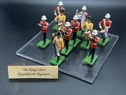 Kingand039s Own Royal Border Regiment By Britain Band 5292 Toy Soldiers W/box