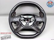 Mercedes G63 G500 G65 Gl63 Gl550 Ml63 Yellow Perforated Carbon Steering Wheel V2