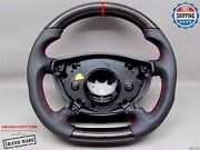 Mercedes 2003-05 W211 E55 E500 G55 G500 Perforated 5red Carbon Steering Wheel V2