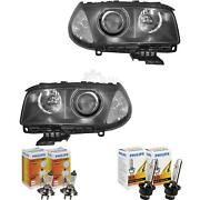 Xenon Headlight Set For Bmw X3 Year 04-06 With Indicator White D2s+