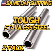 2 Pack Stainless Steel Axle Fits Cub Cadet Rzt-s And Rzt-sx Series 42 46 50 54