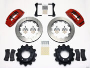 Wilwood Tc6r Rear Kit 16.00in Red 1999-2010 Gm H2 / 2500 4.63 Cntr - Wil140-9405