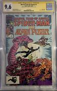 Marvel Team-up Annual 7 - 1984 - Signed And Sketch By Sam De La Rosa - Cgc Ss 9.6