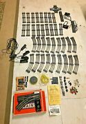 Vintage Lot Lionel O Gauge Track And Accessories, 70+ Pieces