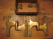 Rixson 181 Dull Bronze Olive Knuckle Left Hand Hinges 6 X 6 Nos Pair