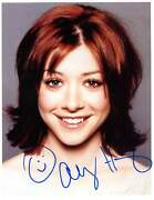 Alyson Hannigan Actress Autograph, In-person Signed Photo