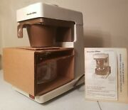 New Vintage Proctor Silex Radc4 10 Cup Automatic Drip Coffee Maker 1968