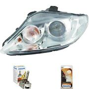 Xenon Headlight Right For Seat Exeo Year 09- Valeo D1s Incl. Philips Lamps