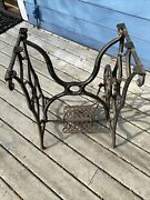 Early Singer Treadle Sewing Machine Base, Puget Sound Area Pick Up Only