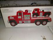Hess 2015 Fire Truck And Ladder Rescue Collectible Toy Brand New In Box
