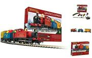 Santa's Express Christmas Toy Train Set R1248, Red, Blue And Yellow Single