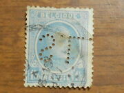 Belgium King Albert 1926 Postage Stamp 1f.50c With Perfin S.l.