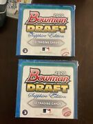 2020 Bowman Draft Sealed 5 Box Lot Sapphire Edition Online Exclusive In Hand