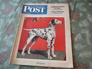 1943 Saturday Evening Post July 17 Issue No Label J.d. Salinger Ww2 News Stand