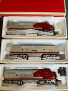 Lionel 11711 Santa Fe F-3 Abbba With 7 Passenger Cars