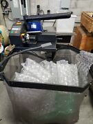 Sealed Air Newair I.b. Express Inflatable Bubble Wrap Machine On Rolling Cart