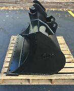 New 48 Ditch Bucket For A Kubota U45 With Coupler