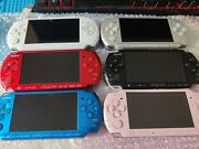 Excellent Mint Sony Playstation Psp Portable 1000 2000 3000 Various Colors