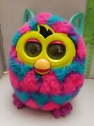 Furby Boom Hasbro Interactive Electronic Toy 2012 Pink Teal Blue Purple Hearts