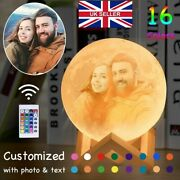 Photo Gifts Customized Photo Moon Lamp Personalized Kid Wifeand039s Gifts Night Light