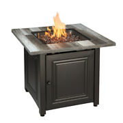 Fire Pit Table Propane Gas Outdoor Patio Heater Backyard Furniture 50000 Btu