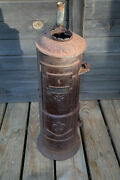 Hotsteam Heater Co Antique Cast Iron Water Heater Trct Copper Coil Cleveland