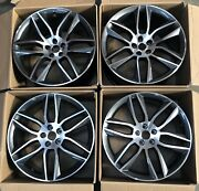 Genuine Set Of 4 Jaguar F-type 20 Gyrodyne Machined Alloy Wheel Front And Rear