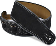 Leather Guitar Strap For Electric Acoustic Classical And Bass Guitars
