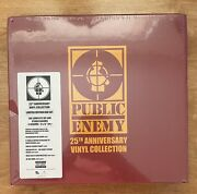 Public Enemy 25th Anniversary Vinyl Collection 2013 New Sealed