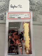 2009 Topps Ufc 33 Round 2 Insert Gold Anderson Silva Psa 8 Pop 1 Only 1