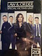 Law And Order Special Victims Unit Svu Complete Season 20 Dvd New Sealed