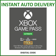 Xbox Live Gold And Game Pass Ultimate Membership 1 2 3 6 12 Month And 7 14 Days