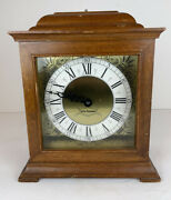 Seth Thomas Exeter W Mantle Clock Model E538-001 For Parts Or Repair