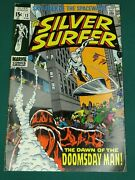 Silver Surfer 13 Vf- 7.5 First Appearance Doomsday Man